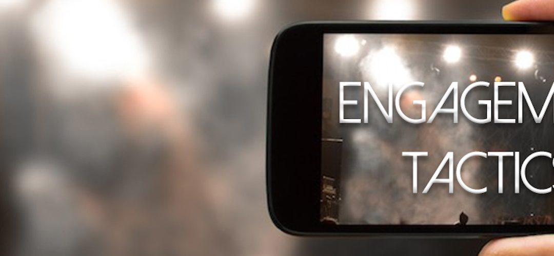 Improve your mobile videos tip #3: Engagement Tactics
